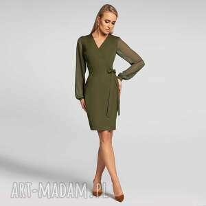Sukienka ivonne mini khaki sukienki livia clue mini, dopasowana