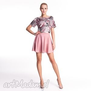 handmade spódnice ginette - spódnica mini różowa