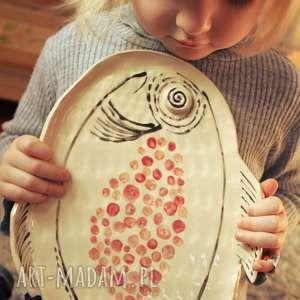 Prezent Ceramiczny talerz Ryba, ryba, talerz, patera, salon, homedecor, prezent