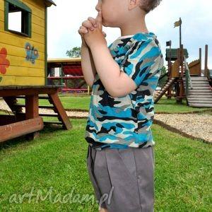 Brązowe szorty dla chłopca/dziewczynki, spodenki, szorty, dla-dziecka, dziewczynka