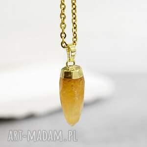 amore ii cytryn półszlachetny kamień - kamień, zawieszka, medalion