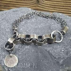 bransoletka srebrna, srebro bransoletka, modna prezent
