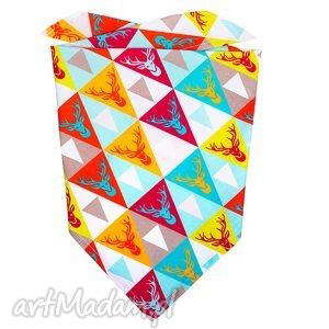 handmade ubranka bawełniana chustka na lato - miętowy jelon