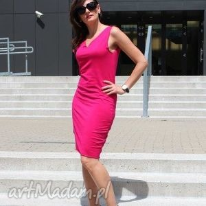 Klasyczna sukienka ołówkowa sukienki szary mary sukienka