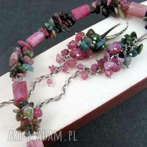 turmalin jak kwiaty, turmalin, rubin, wyjątkowy prezent