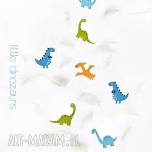 DINOZAURY - girlanda, gwiazdki, dinozaur, dinozaury