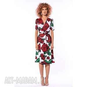 sukienki rozalia - sukienka w róże