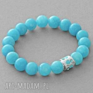 jade with bead in blue lavoga - jadeit
