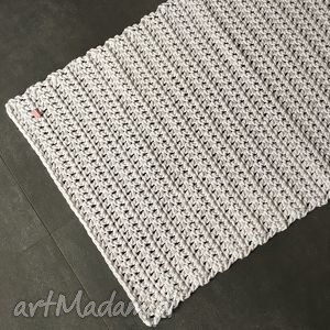 Dywan ze sznurka bawełnianego biały 60x100 cm nitkowelove dywan