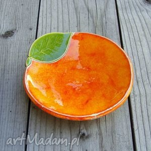ręczne wykonanie ceramika ceramiczna pomarańcza