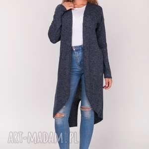 Kardigan,frak rozpinany, frak, długi, sweter, kardigan, rozpinany