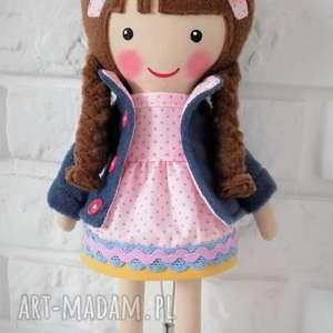Prezent MALOWANA LALA WIOLA, lalka, zabawka, przytulanka, prezent, niespodzianka,