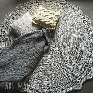 DYWAN ZE SZNURKA BAWEŁNIANEGO 150 CM, dywan, chodnik, sznurek, szydełko, bawełna