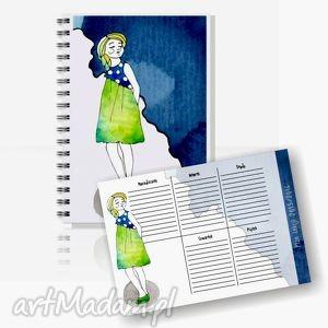 notesy komplet do szkoły dla dziewczynki, zeszyt, notes, szkoła, planlekcji
