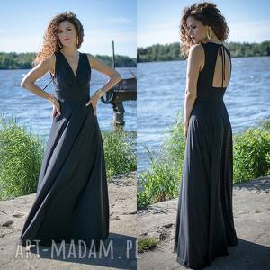 morena - suknia, długa, maxi, elastyczna, unikalny