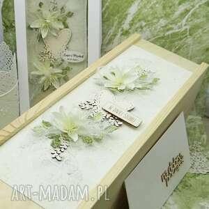 komplet ślubny kartka pudełko na wino koperta 7, ślub, ślubna, prezent