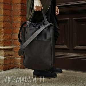 święta, iks pocket grafit laptop, torebka, torba, casual, jesień, vegan