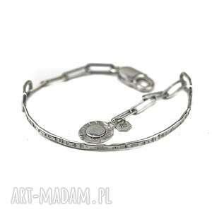ręcznie wykonane bransoletka srebrna