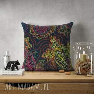 hand-made poduszki poduszka z żakardu tapicerskiego w stylu neo boho