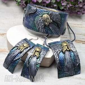 komplet biżuterii anioły - wyjątkowa biżuteria, anioły