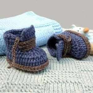 Buciki laval b a o l buciki, wełniane, niemowlęce, prezent
