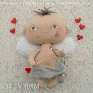 dekoracje amorek, cherubinek, aniołek, lalka - dekoracja tekstylna, ooak