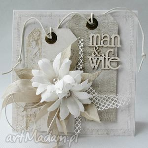 man wife - w pudełku - ślub, życzenia, gratulacje