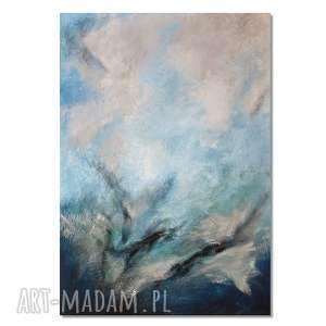 tierra el hielo 2, abstrakcja, nowoczesny obraz ręcznie malowany