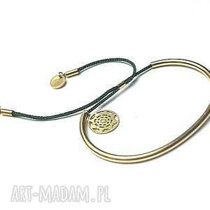 oryginalny prezent, bransoletki alloys collection - gold 2 , stal, szlachetna