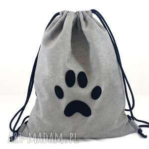 Backpack nr 5 - ,plecaczek,zamsz,łapka,