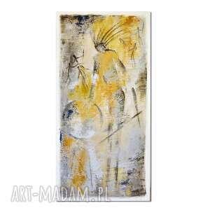 Szaman 3, abstrakcja, nowoczesny obraz ręcznie malowany