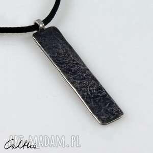 Kamień - srebrny wisiorek 200117 -02 wisiorki caltha wisior