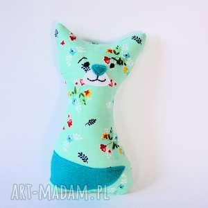 kotek mruczek luiza 18 cm - kot, kotek, dziewczynka, romantyczna, chrzciny, urodziny