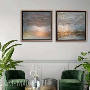 maja k obraz w podwójnym egzemplarzu ręcznie malowany na płótnie 55 x 55