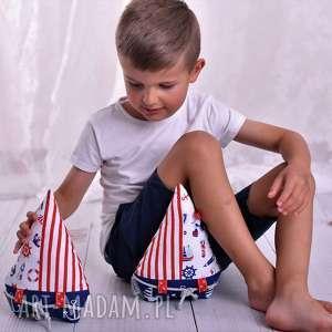 Przytulanka dziecięca łódka pokoik dziecka ateliermalegodesignu