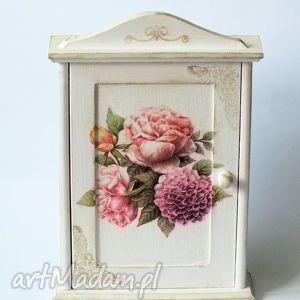 dom szafka na klucze - kwiaty z prowansji