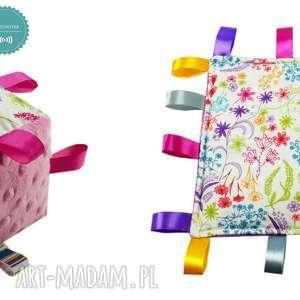 ręcznie robione zabawki komplet niemowlaka, wzór rajski ogród