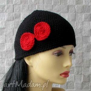 mała wiosenna czapka bonnet femme - bonnet, czapka, wiosna, mała, beanie, retro