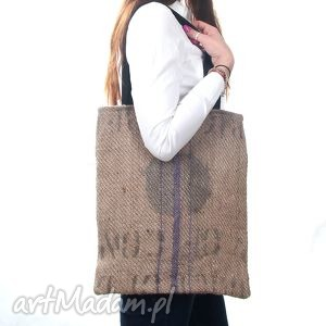 pod choinkę prezent, torba jutowa coffee, torba, juta, kawa, worek, len