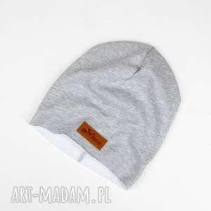 klasyczna szara czapka, unisex, chłopak, dziewczyna, prezent, dzianina