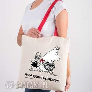 na ramię licencjonowana torba muminki z czerwonym uchem dla mamy mamo kocham cię
