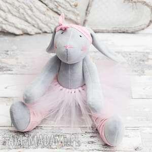 królik przytulanka prezent, królik, prezent, przytulanka, roczek