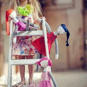 ana, serdeczna, lalka, szmacianka, przyjaciółka, serce, eko, bezpieczna