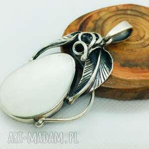 handmade wisiorki unikatowy srebrny wisior srebro 925