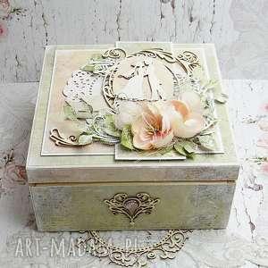 ślub pudełko ślubne - niezbędnik małżeński, ślubne