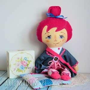 handmade lalki lala jadzia słodka modelka