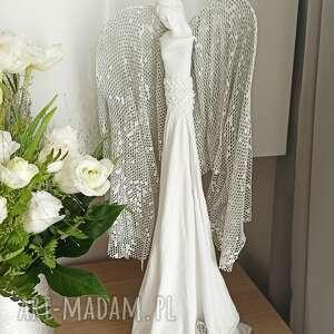 dekoracje anioł radości, stróż, figura anioła, talizman, dekoracja salonu