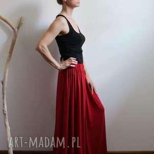 spódnice długa zwiewna lejąca się spódnica boho kolory, długa, zwiewna