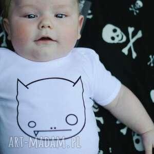 body dziecięce i niemowlęce z krótkim rękawem - wilk, body, dziecko, niemowlę