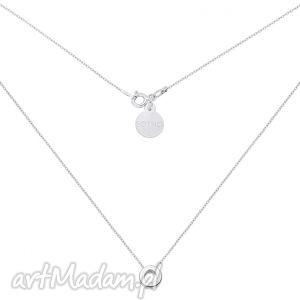 sotho srebrny naszyjnik z przestrzenną karmą - łańcuszek
